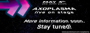 Axoplasma live on stage.